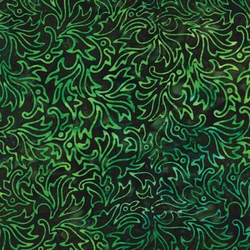 Tiger Lily Batiks in Jungle (4331 39) // Juberry Fabrics