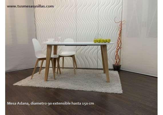 Mejores 39 im genes de adana la mesa de estilo nordico for Mesa 70x70 extensible