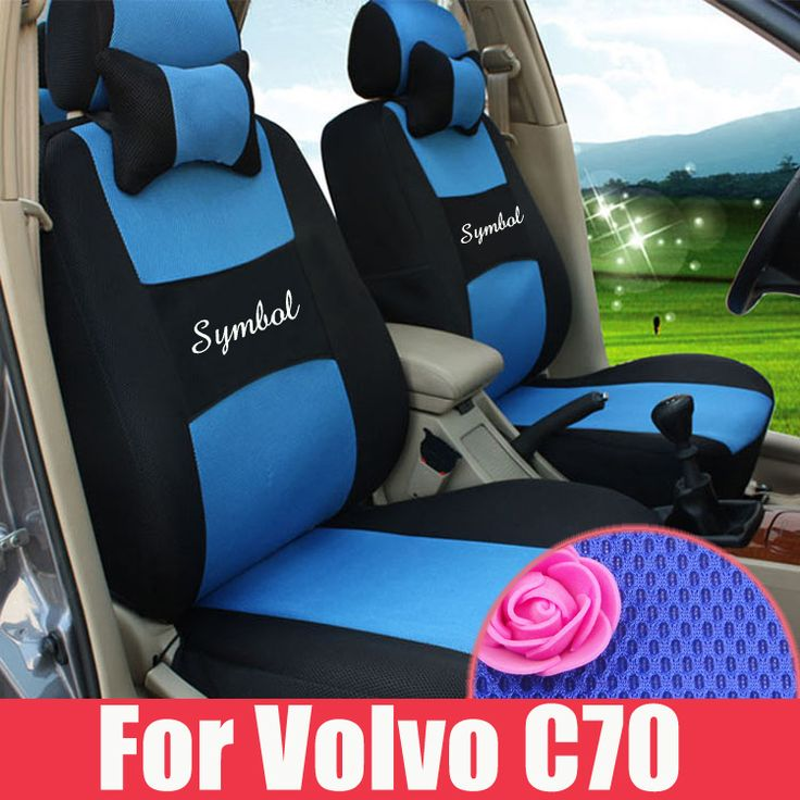 Customized car accessories fit for Volvo c70 seat covers sandwich fabric car seat cover for car seats styling seat cushions sets #Affiliate