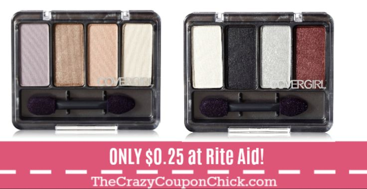 Covergirl Eye Enhancers Eye Shadows ONLY $0.25 at Rite Aid!