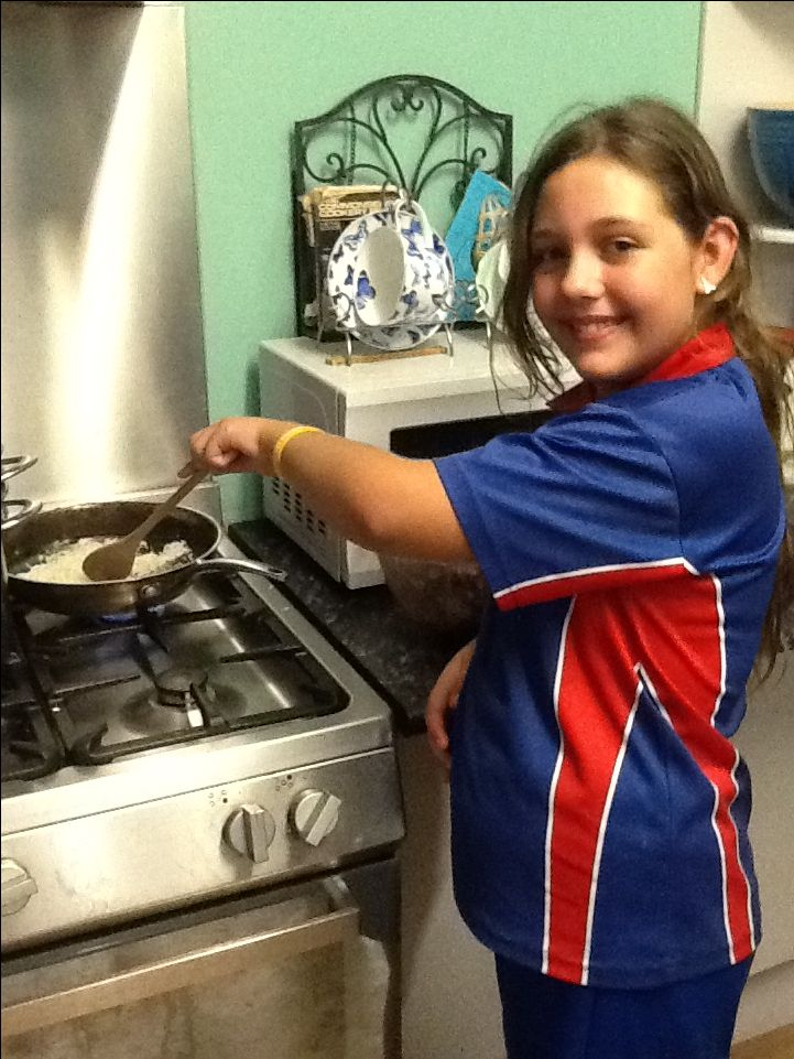 Me cooking