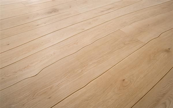 wood flooring that is cut on it's natural edge to eliminate waste - beautiful and sustainable!