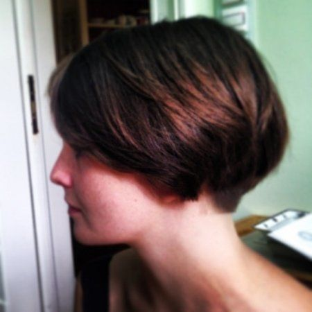Wedge Haircut Tumblr Very Short Wedge Haircut Pictures                                                                                                                                                     More