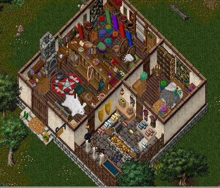 Ultima online house decorating ideas