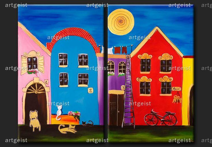 Cuadros alegres ideales para las habitaciones infantiles - Cuadros para habitaciones infantiles ...