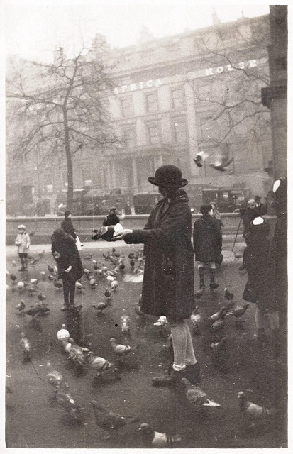 Trafalgar Square, London, 1920`s |cM