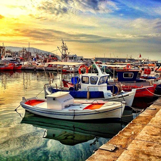 Fishingboats..