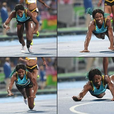 Buzzing: How the Internet Reacted to Shaunae Miller's Gold Medal-Worthy Finish Line Dive