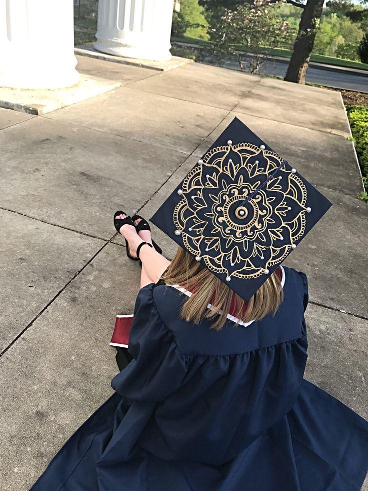 Grad Cap Lotus Mandala 2017!