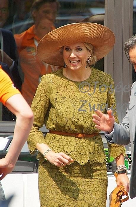 Queen Maxima of  Netherlands attended the opening of SingularityU The Netherlands, a Dutch branch of the US benefit corporation, on June 2, 2016 in Eindhoven.