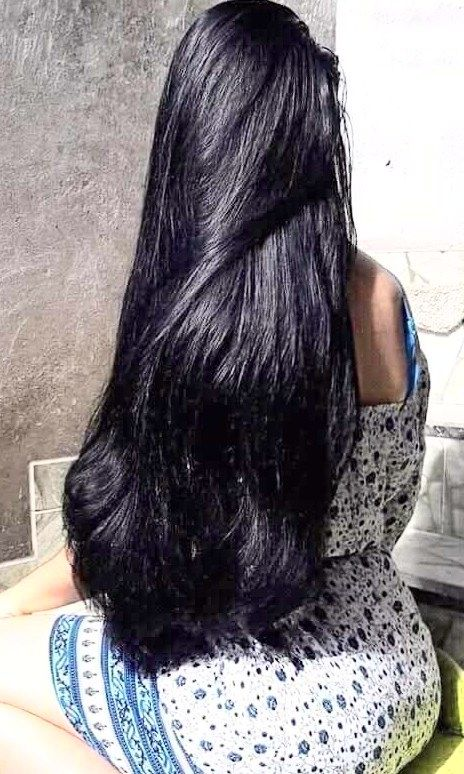 Thick silky hair | Long black hair | Long hair styles ...