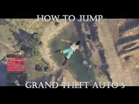 Grand Theft Auto 5 - How To Jump #GrandTheftAutoV #GTAV #GTA5 #GrandTheftAuto #GTA #GTAOnline #GrandTheftAuto5 #PS4 #games