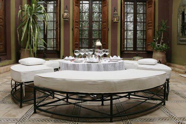 Настоящие марокканские гостиные: как они выглядят - 45 примеров для поклонников экзотики
