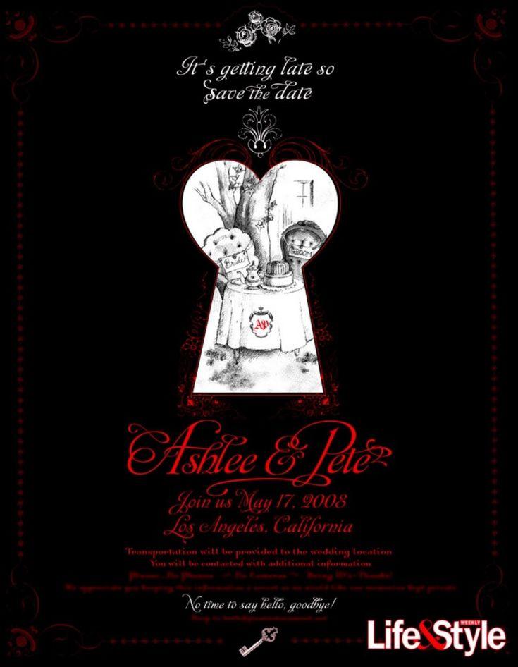 Alice In Wonderland Party Invitation Inspiration