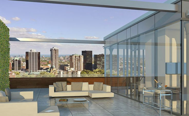 M sur la Montagne Luxury Condominiums in Montreal - Golden Square Mile  A seven-hundred-thousand-square-foot backyard with its own opulent indoor pool, gym, spa and outdoor clay tennis court evokes the elegance of the past, now present once again.  In the middle of it all, you find a mesmerizing, architectural, palatial complex of forty-two units plus forty-five units in an adjacent building.  M sur la Montagne is located inside the fabled Golden Square Mile neighbourhood of Montreal.