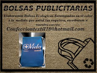 Bolsas Ecologicas Confeccion Textil 18:      Elaboramos Bolsas Publicitarias En Tela Pop, ...
