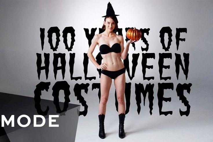 Костюмы на Хэллоуин за последние 100 лет https://mensby.com/video/entertainment/6436-costumes-halloween-last-100-years  В канун Дня всех святых, согласно традициям, принято надевать специальный костюм в стиле ужасов. Самые страшные, забавные и странные костюмы на Хэллоуин за последние 100 лет. А также идеи костюмов на Хэллоуин для пары.