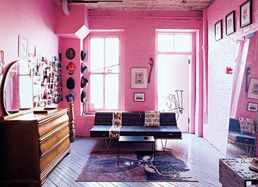 13 best baker miller pink images on pinterest baker - Brooklyn apartment interior design ...