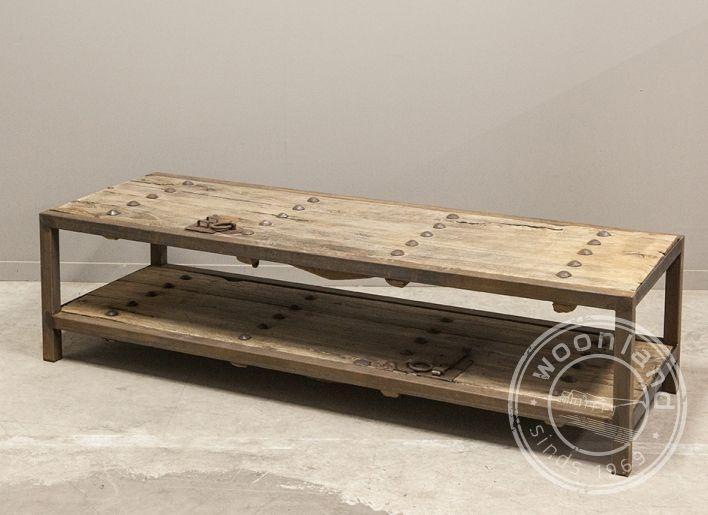 Salontafel oude deur china   | Woonland