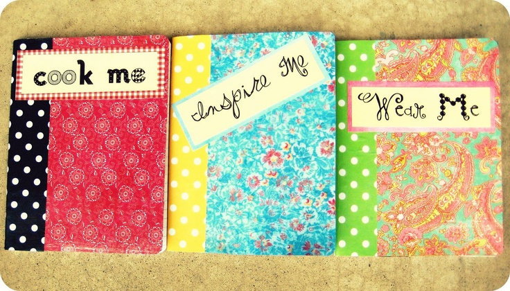 Composition notebook decorating ideas pinterest for Back to school notebook decoration ideas
