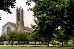 Lois Perkins Chapel--Southwestern University campus, Georgetown, TX