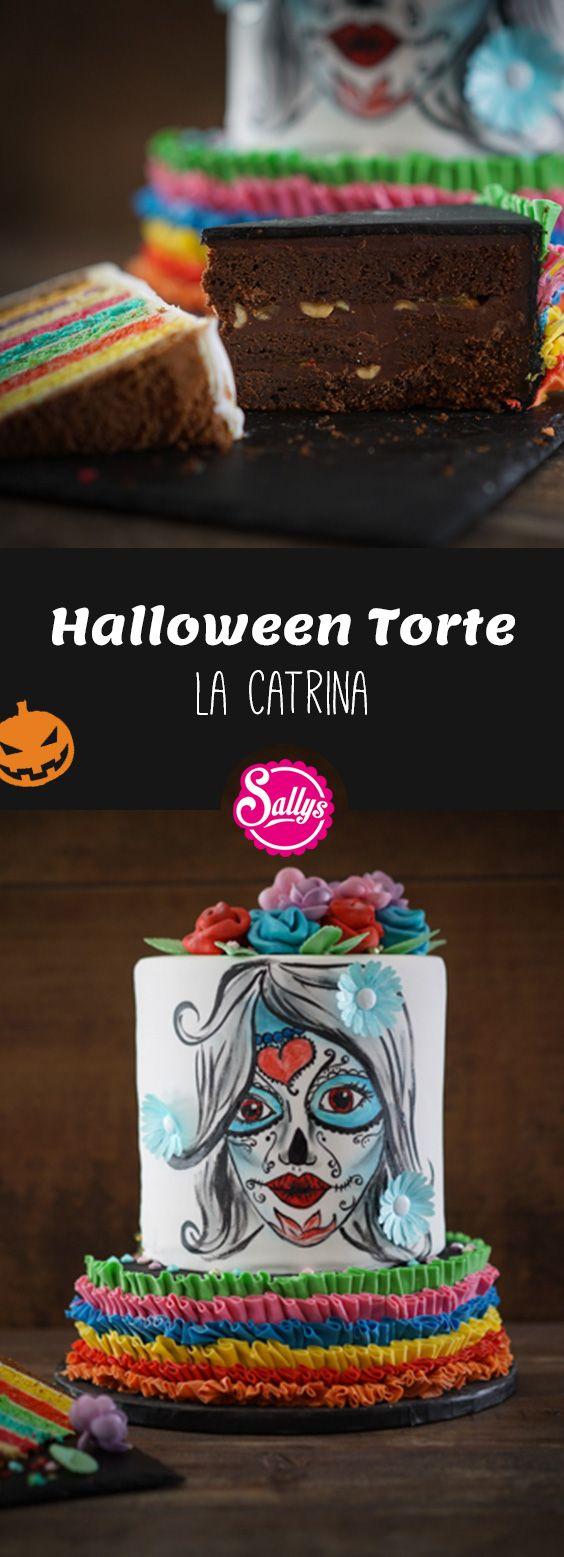Diese Torte wird ein garantierter Hingucker auf eurer Halloween-Party!