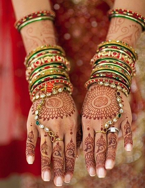Indian Latest Bridal Mehndi Designs 2012
