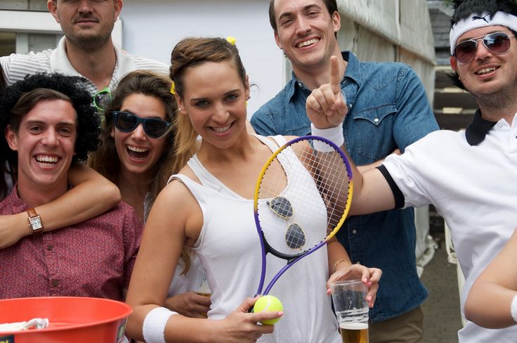 We visited Wimbledon during the tennis last summer and met these friendly Aussies