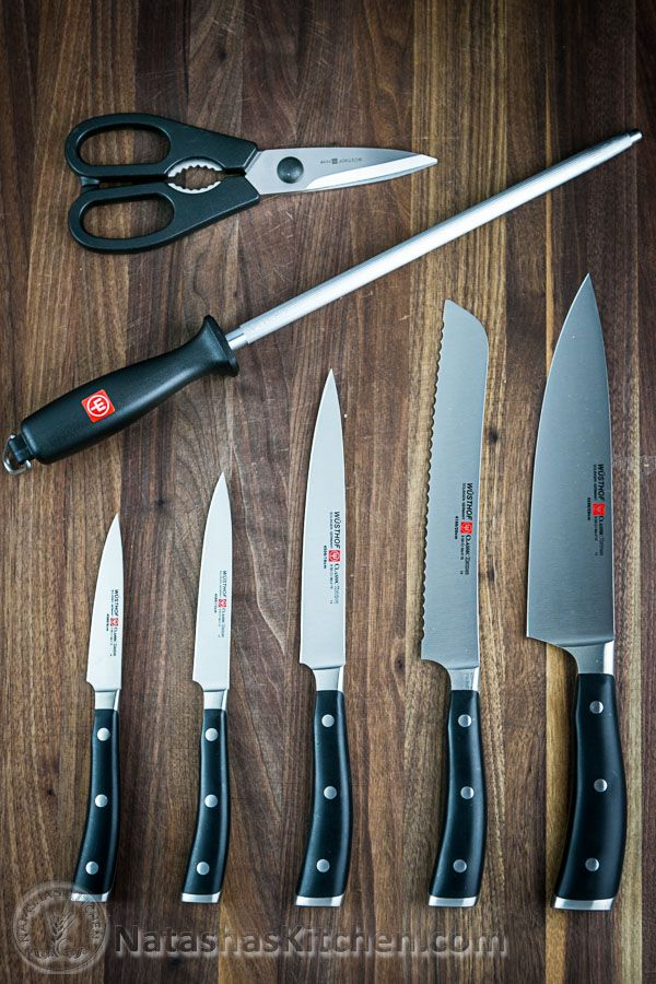 Wusthof Knife Set - the best of the best! These are incredible. The same set that I use in my kitchen and the ones foodnetwork stars use! Giveaway ends tonight! 12/19/14. Sponsored by @Wusthof