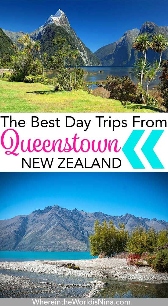 All of the things you can do in Queenstown, New Zealand are right here including all the best day trips from Queenstown. Queenstown adventures, Queenstown day trips, and some epic Queenstown activities. Don't lose this pin, save it for later! #Queenstown #NewZealand #adventure