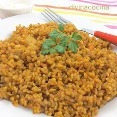 Esta receta de arroz a banda me la dieron hace años en un restaurante de La Malvarrosa de Valencia, y queda siempre buenísimo.
