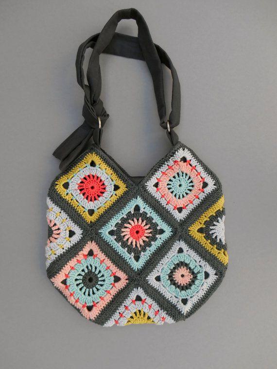 design crochet bag pattern by BORIsBAG on Etsy