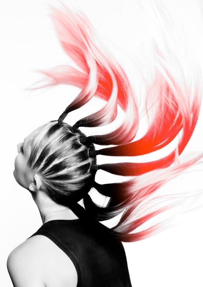 Artistic hairstyles