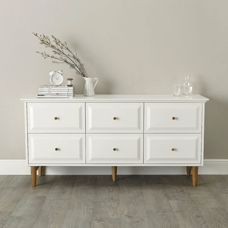 Devon 6-Drawer Chest Of Drawers | The White Company or ERCOL??