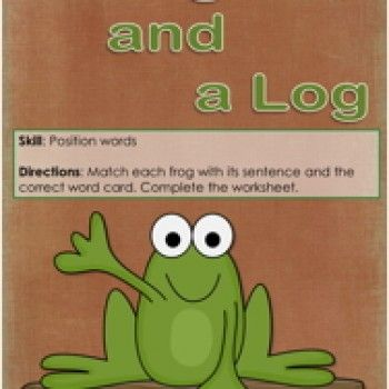 Positions Words Activity, Preposition Activity, Prepositions Activity, Location Words