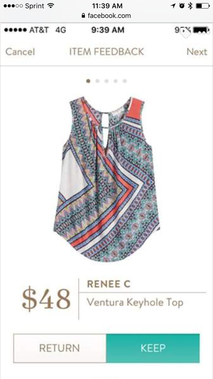 One of the cute shirts from Stitch Fix this Spring. Try it! Just follow this link.... https://www.stitchfix.com/referral/5198264