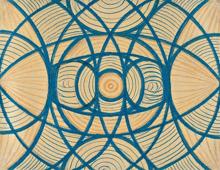 MoMA   Inventing Abstraction   Vaslav Nijinsky   Untitled (Arcs and Segments: Lines). 1918–19