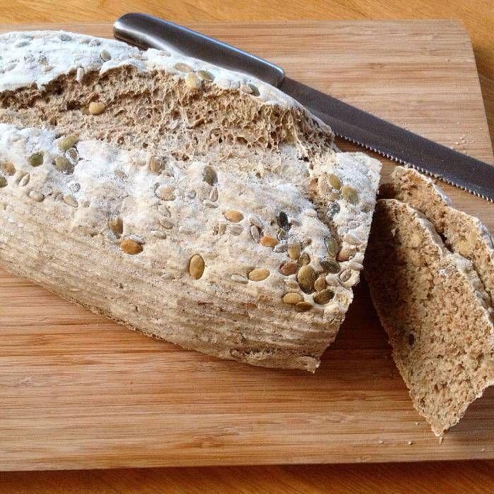 Rågbröd med solros- & pumpafrön