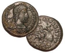 CONSTANTIUS II 337-361 AD Æ Roman Bronze Coin Siscia Mint