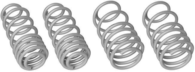 Whiteline 2005-2014 Ford Mustang GT S197 Performance Lowering Springs