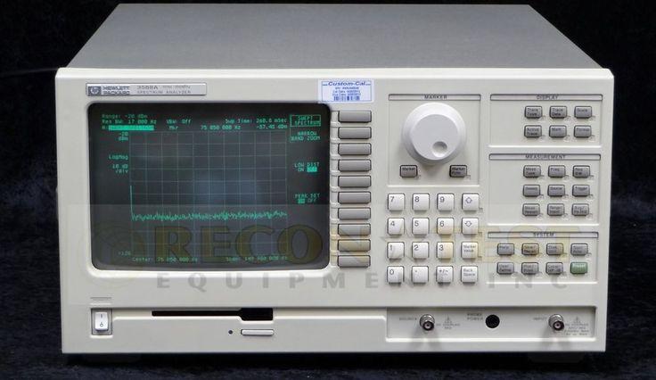 Agilent/HP/Keysight 3588A Spectrum Analyzer #AgilentHP