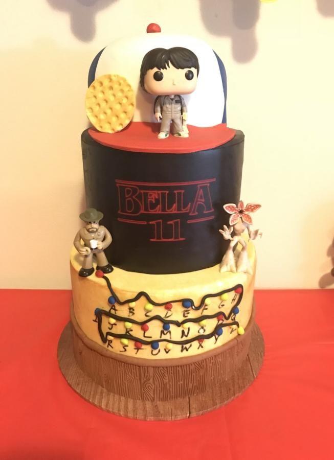Stranger Things cake - cake by Inspired Sweetness ...