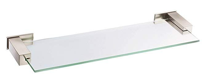 Danze D446134BN Sirius Glass Shelf, 18-Inch, Brushed Nickel Review