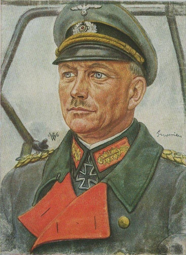 The father of Blitzkrieg, Generaloberst Heinz Guderian ...