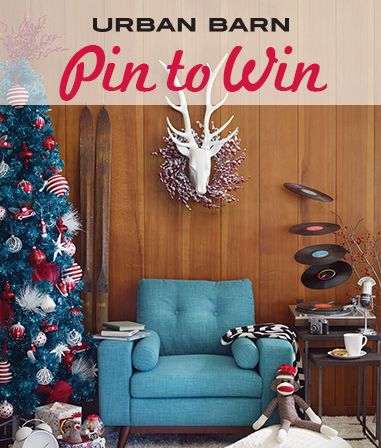 Pin to Win a $500 Urban Barn shopping spree!