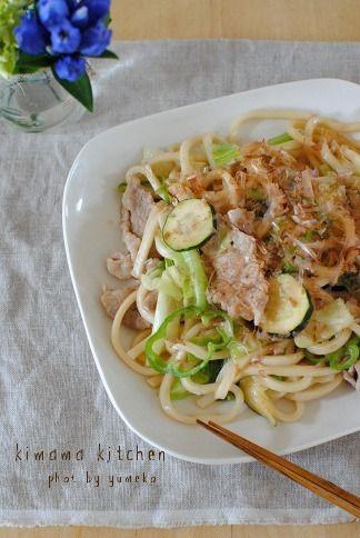 ズッキーニの焼うどん by ゆうこのkimamakitchenさん | レシピブログ ...
