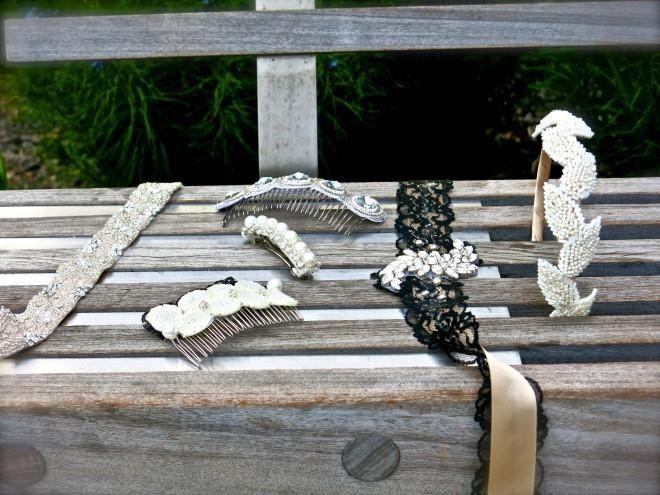 DIY Gatsby Inspired: How to Make Gatsby Headbands and Hair Combs : DIY Headband DIY Hair Accessories