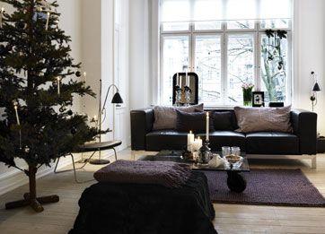 Enkel jul med naturlige detaljer