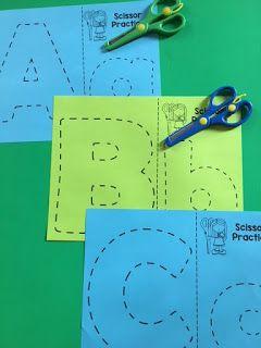 Alphabet Cutting Practice By Gwyn December 16, 2017 // No commentsAlphabet Cutting Practice