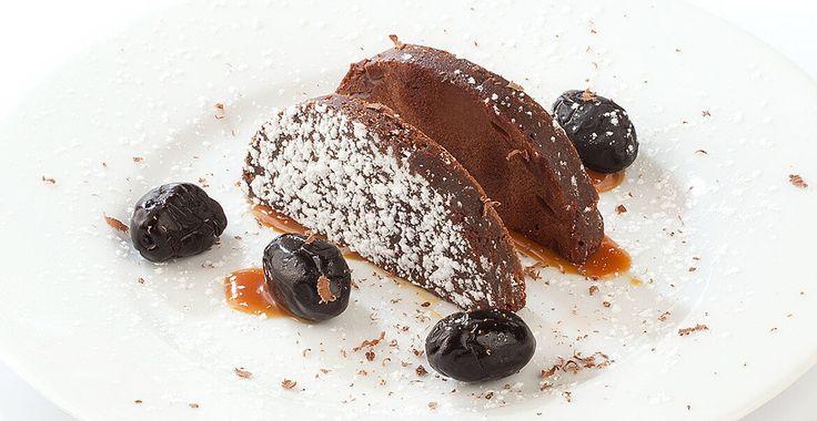 Ricetta Brownies con olive nere e caramello salato - Ricette con le Olive